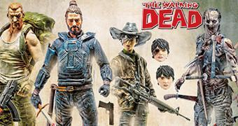 Action Figures The Walking Dead Comics Série 4: Abraham, Carl, Jesus e Zumbi Pin Cushion