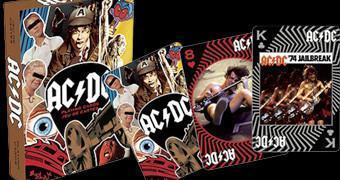 Baralho da Banda de Rock AC/DC