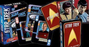 Baralhos Star Trek Original e Star Trek Nova Geração