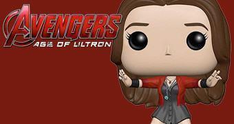 Boneca Funko Pop! Scarlet Witch (Feiticeira Escarlate) em Vingadores: Era de Ultron