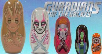 Bonecas Russas Matryoshkas dos Guardiões da Galáxia!