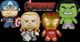 Avengers Age of Ultron Fabrikations Soft Sculpture – Bonecos Funko Pelúcia/Vinil de Vingadores 2: Era de Ultron
