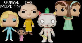 Bonecos Funko Pop! American Horror Story: Freak Show!