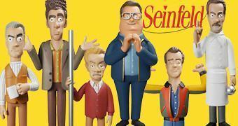 Seinfeld Vinyl Idolz – Bonecos de Vinil do Kramer, Newman e Soup Nazi entre Outros