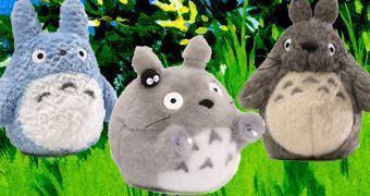 Bonecos de Pelúcia Meu Amigo Totoro (Hayao Miyazaki)