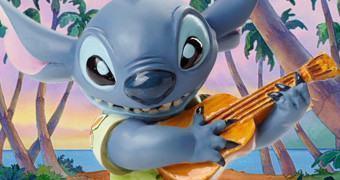 Busto Disney Grand Jester: Experiência Genética nº 626 Stitch Tropical