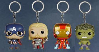 Chaveiros Vingadores Funko Pocket Pop! Keychain (Avengers)