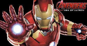 Cofre de Moedas Iron Man com LED – The Avengers Age of Ultron Bust Bank