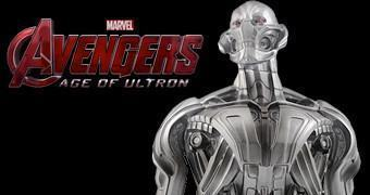 Cofre Ultron Bust Bank do Filme Vingadores 2: Era de Ultron