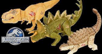 Dinossauros de Brinquedo do Filme Jurassic World: O Mundo dos Dinossauros