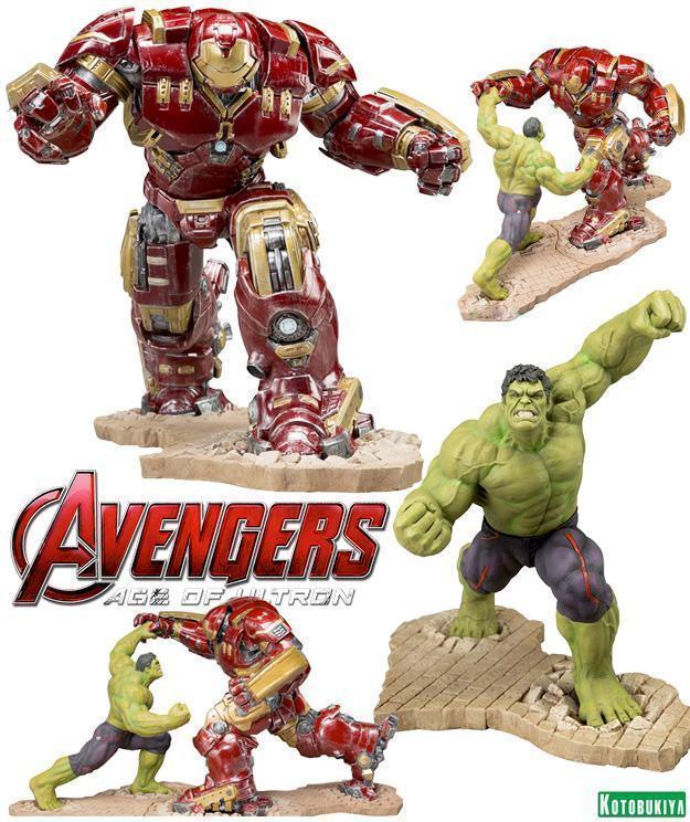 Estatua-Avengers-Age-Ultron-Hulkbuster-e-Hulk-ArtFX-01