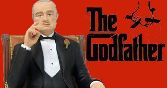 Don Vito Corleone Movie Icons – Estátua O Poderoso Chefão (Godfather)