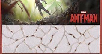 Fazenda de Formigas Ant-Man do Filme Homem-Formiga da Marvel