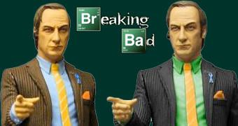 "Figuras Breaking Bad Saul Goodman 6"" com Camisa Verde ou Azul"