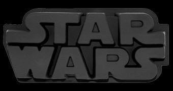 Forma de Silicone Start Wars Logotipo