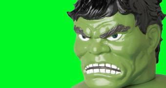 Boneco Hulk Medicom Marvel Retro Sofubi