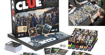 Jogo Detetive Game of Thrones Clue com 48 Suspeitos!