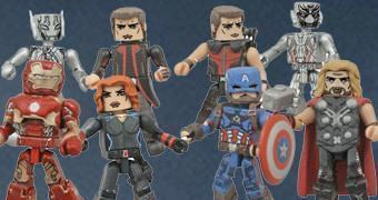 Marvel Minimates Avengers Age of Ultron – Mini-Figuras Os Vingadores 2