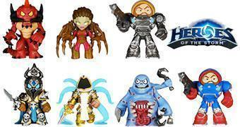 Mystery Minis: Heroes of the Storm da Blizzard – Mini-Figuras Funko (Blind-Box)