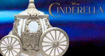 Pote de Cookies Carruagem Mágica da Cinderella