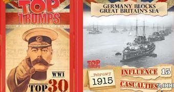 Jogo Super Trunfo Primeira Guerra Mundial (WWI)