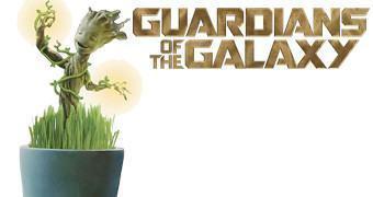 Vaso de Plantas com Baby Groot Iluminado (Guardiões da Galáxia)