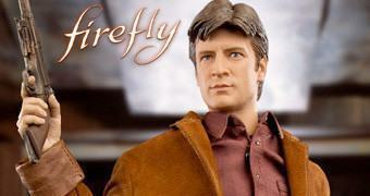 Action Figure Perfeita Firefly: Malcolm Reynolds 1:6 (Nathan Fillion)
