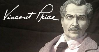 Action Figure 1:6 de Vincent Price no Filme A Casa dos Maus Espíritos