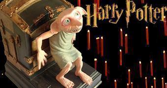 Apoio de Livros Harry Potter: Dobby Bookend