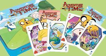 Baralhos Hora de Aventura (Adventure Time)