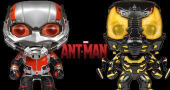 Bonecos Funko Pop! Homem-Formiga: Ant-Man e Yellowjacket