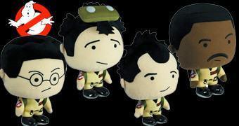 Bonecos de Pelúcia Falantes Os Caça-Fantasmas: Peter, Egon, Ray, e Winston (Ghostbusters)