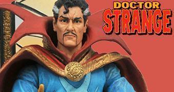 """Doctor Strange Marvel Select Action Figure em Escala 7"""""""