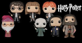 Bonecos Funko Pop! Harry Potter