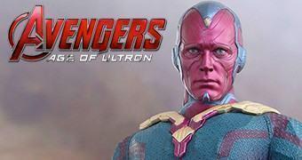 Visão (Paul Bettany) em Vingadores: Era de Ultron – Action Figure Perfeita Hot Toys