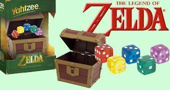 Jogo de Dados Yahtzee The Legend of Zelda