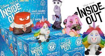 Mystery Minis Pixar: Divertida Mente (Inside Out) – Mini-Figuras Funko (Blind-Box)