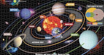 Quebra-Cabeça Sistema Solar do Instituto Smithsoniano