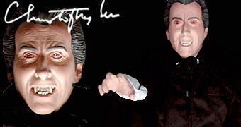 Sir Christopher Lee como Conde Drácula 1:6 – Action Figure Hammer Films (RIP)