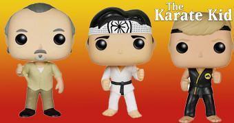 Bonecos Pop! Karate Kid – A Hora da Verdade