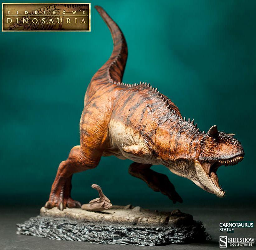 Estatua-DInossauro-Carnotauros-Sideshow-Dinosauria-01