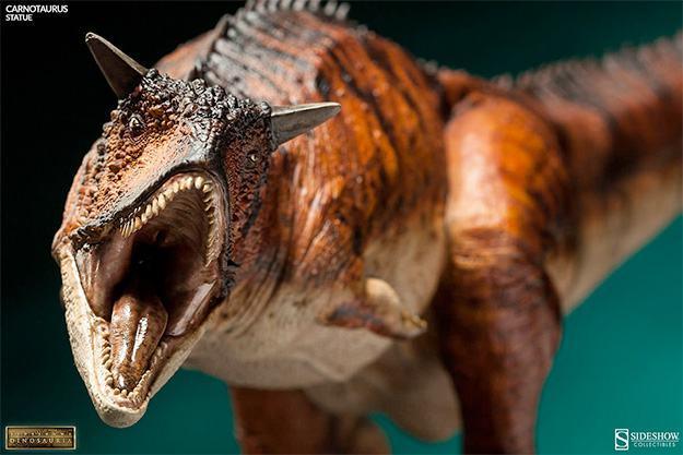 Estatua-DInossauro-Carnotauros-Sideshow-Dinosauria-02