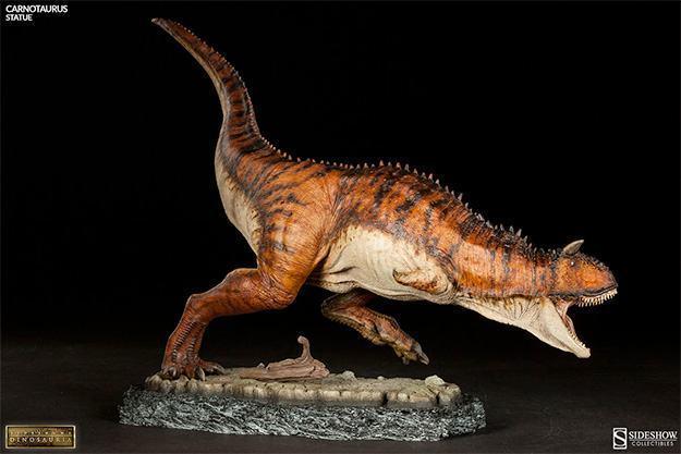 Estatua-DInossauro-Carnotauros-Sideshow-Dinosauria-04