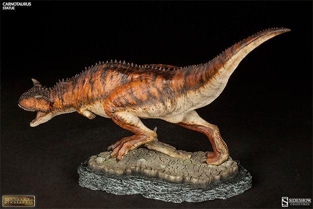 Estatua-DInossauro-Carnotauros-Sideshow-Dinosauria-05