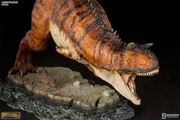 Estatua-DInossauro-Carnotauros-Sideshow-Dinosauria-08