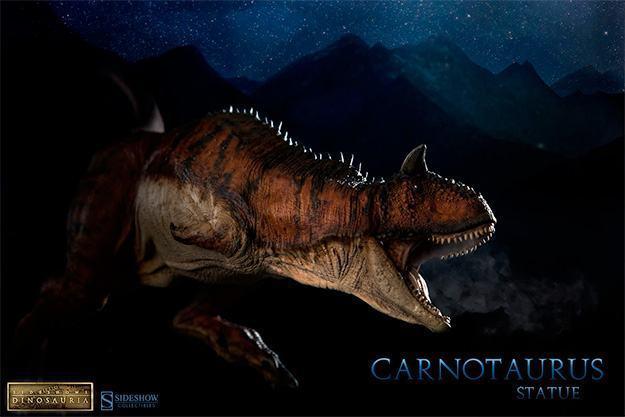 Estatua-DInossauro-Carnotauros-Sideshow-Dinosauria-12