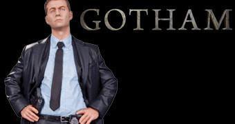 Estátua 1:6 do Detetive James Gordon na Série de TV Gotham