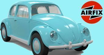 Fusca VW Beetle Airfix Quick Build – Blocos de Montar Tipo LEGO