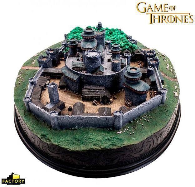 Maquete-Game-of-Thrones-Winterfell-Desktop-Statue-03