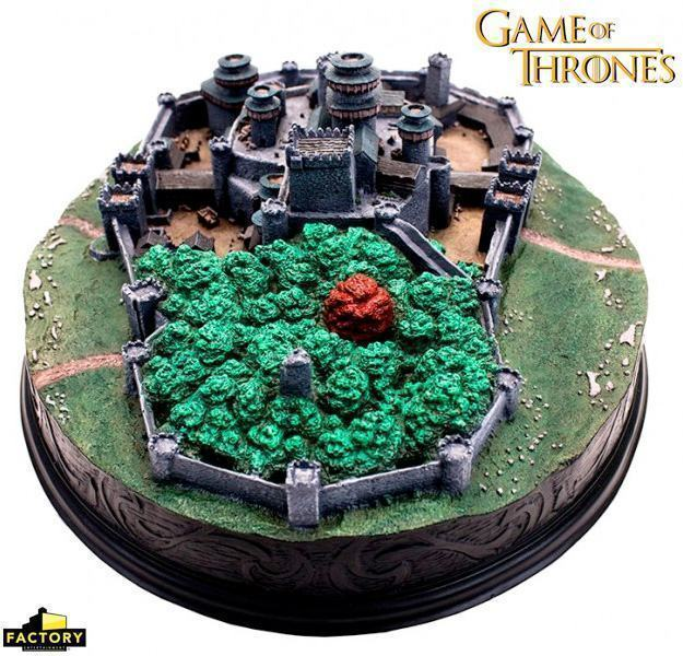 Maquete-Game-of-Thrones-Winterfell-Desktop-Statue-04